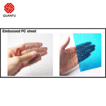 10 Years Warranty 10mm Sunshine Glass Polycarbonate Sheet Sun Sheets & PC Embossed Sheets Walksways