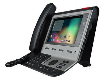 "Android 4.0 IP Video Phone equipped 7"" TFT LCD and 5M Pixel Camera"
