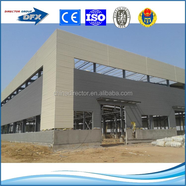 steel structure building fabrication contractor