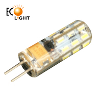 New product Hot sale good quality silicon glue LED AC DC 12V 1.5W G4 Led Lamp