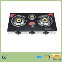 Popular 2016 Hot Sell 3 Burner Gas Cookers from China to India