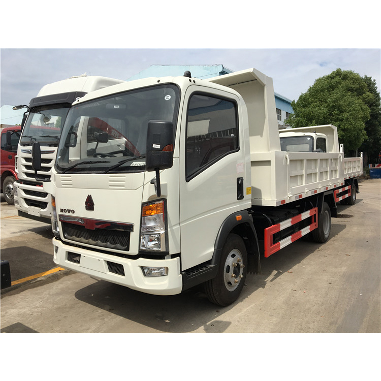 LHD or RHD HOWO 5T light duty china tipper <strong>trucks</strong> for sale