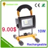 Super bright outdoor 10W Portable led rechargeable lights, led work light,rechargeable light