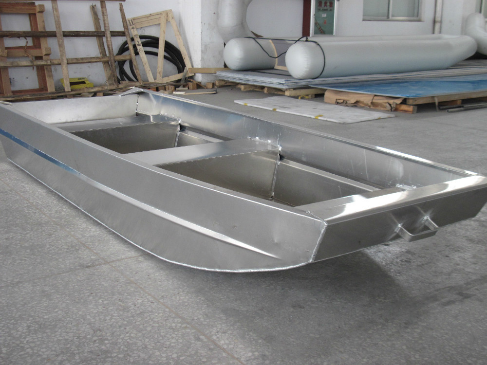 CE Certificate Cheap Flat Bottom Welded Aluminum Jon Boats
