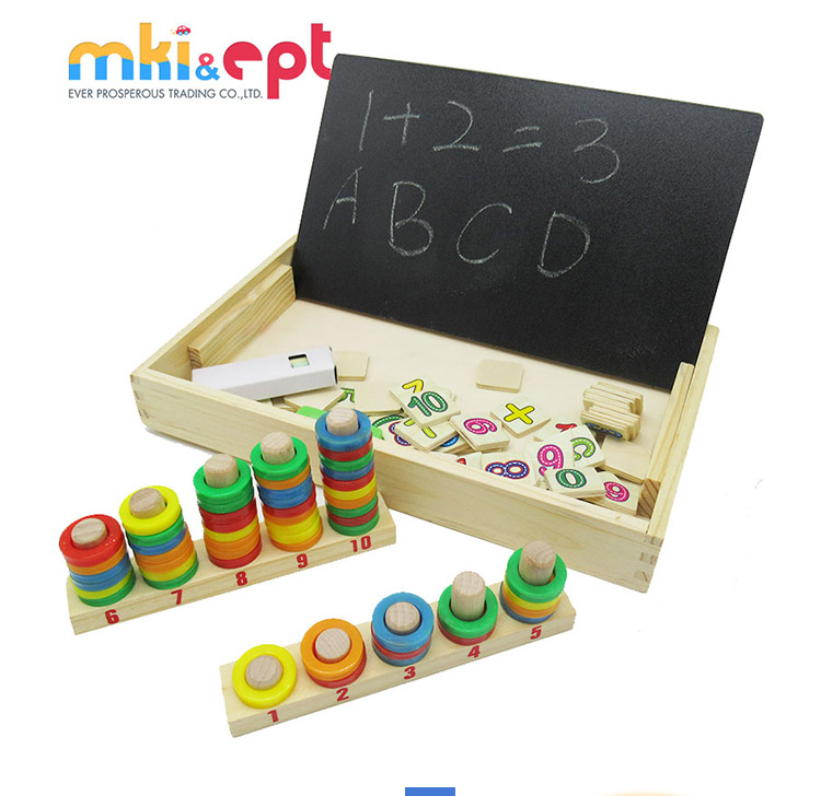 Cute educational intelligent wooden toy for kids on sale