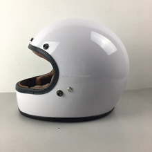 fiber glass helmet in DOT/ECE/CE AS certificate for motorcycle, with bubble visor