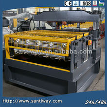 metal shingles roll forming machine