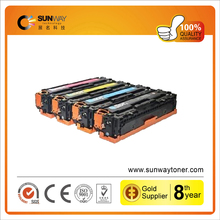 2015 new products CF380A 381A 382A 383A empty color toner cartridge for HP LaserJet Pro MFP M476dw nw(312A)