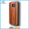 Wood TPU Case for Samsung Case Wood, Custom Wood Case for Samsung S7, Custom Engraving Case for Samsung S6 edge Mobile Phone