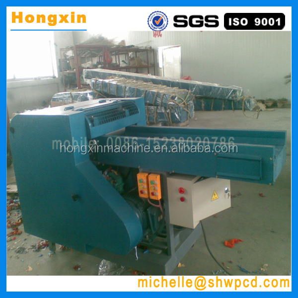 fabric cutting machine/waste clothes cutting machine/rags recycling machine