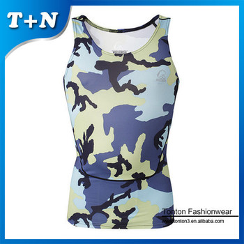 Men's bodybuilding custom gym singlets