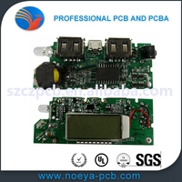 smoke electronic through hole pcb assembly with good quality