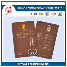 rewritable CR80 AT24C64/SLE5528 satellite receiver smart card for Pay/Access Control