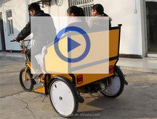 EEC certification and electric driving type pedicab rickshaw three wheel motorcycle