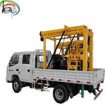 121KW 300m Diesel Engine Driven water well drilling rig types of borehole machine soil test small