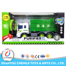 New powerful green garbage toys cheap electric rc trucks