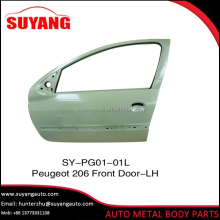 Hot Sale Front Car Door for Peugeot 206 Auto Body Parts