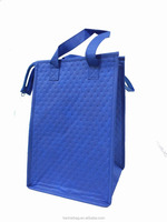 nonwoven thermal wine cooler carrier bag