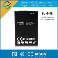 China Manufacture 1500mah battery BL-44JN For LG P970