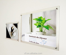 Factory Directly Custom Wall Mounted Acrylic Photo Frame