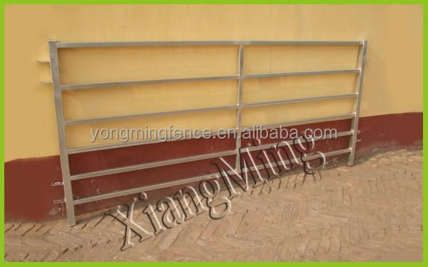 Heavy Duty Square tubes Galvanized Portable Goat Fence Panels / sheep handling equipment