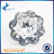 special shape cubic synthetic petals customize diamond