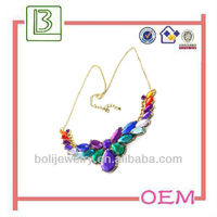 Hot sale latest 2013 New Water Drop Diamond Color Necklace For Spring