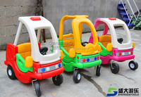 Lovely plastic toy car,Gardon toy car baby walker