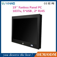 19'' panel pc, industrial computer, vehicle-mount panel pc with optional gps/3g/bluetooth/vehicle docking