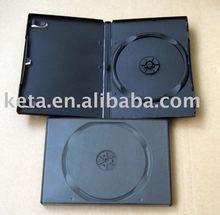 Standard 14mm Single Black Plastic Automatic Packaging Long DVD Case