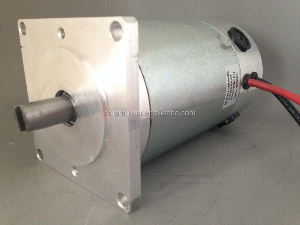 90zyt High Power Brushed Dc Motor for Water Pump, With Square Flange