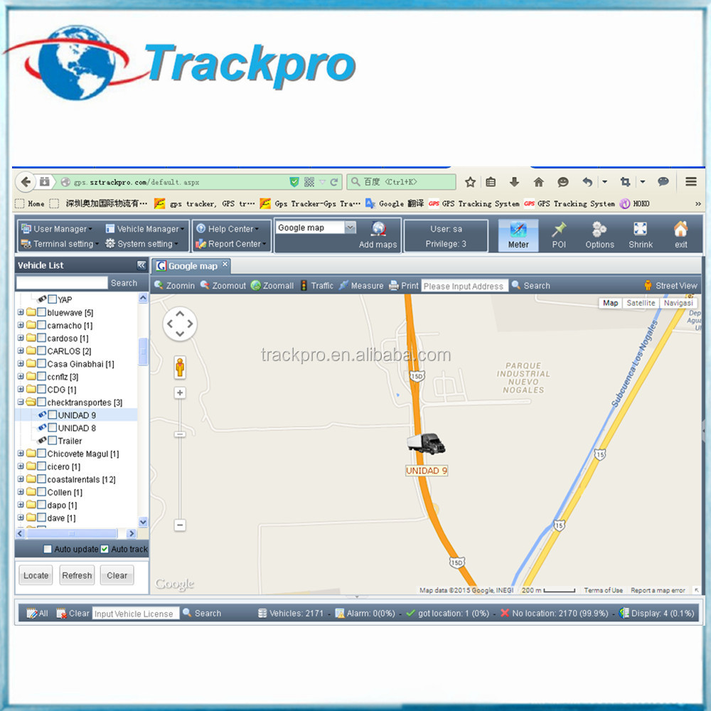 Custom GPS software/hardware for different company gps tracking device