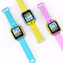 Q200 G75 3G mobile watch phone 3G GPS baby smart watch anti-lost gps watch for kids