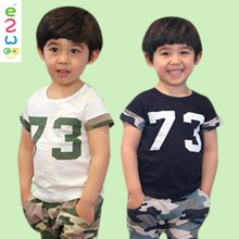 Wholesale Customize Plain Cotton Baby Tshirts from China