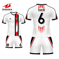Discover Custom Jersey Store Football Shirt Maker Uniforms Soccer Jersey Kits Sublimation Soccer Wear