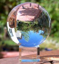 60mm Clear Quartz Crystal Ball For Carnival Accessory