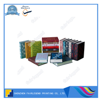 High Quality PVC/Paper Cover Paperback Book For Office And School With Transparent PVC