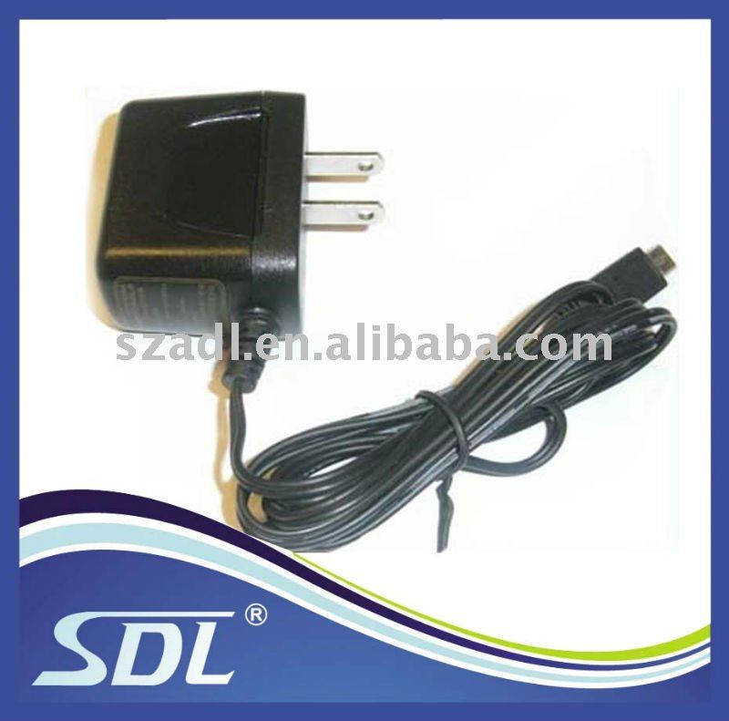 Travel charger for motorola V8