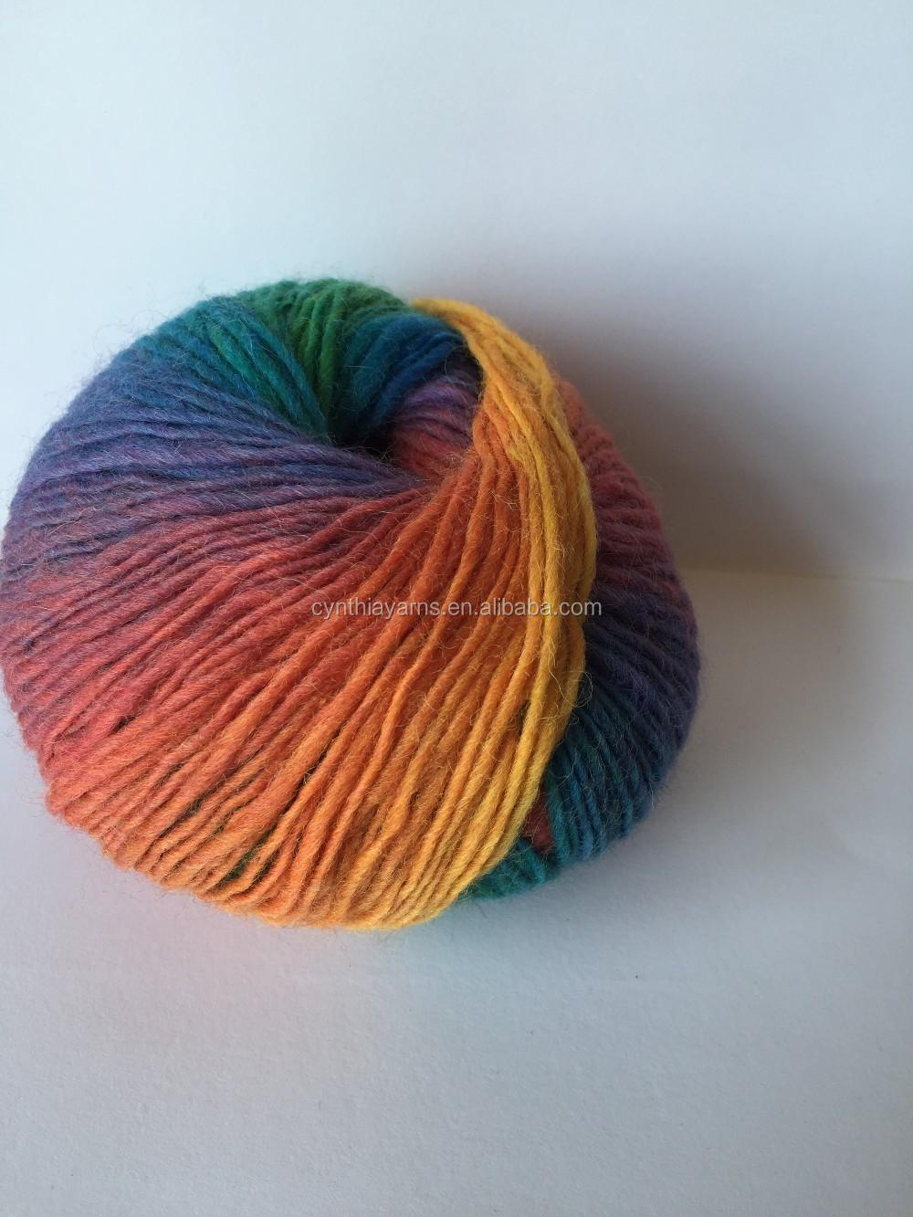 Шерстяные нитки наших производителей для вязания