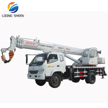 New 10ton truck mounted crane with T-King chassis