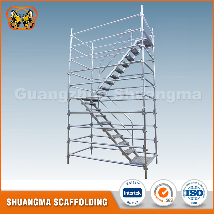 Used Kwikstage Steel Scaffold