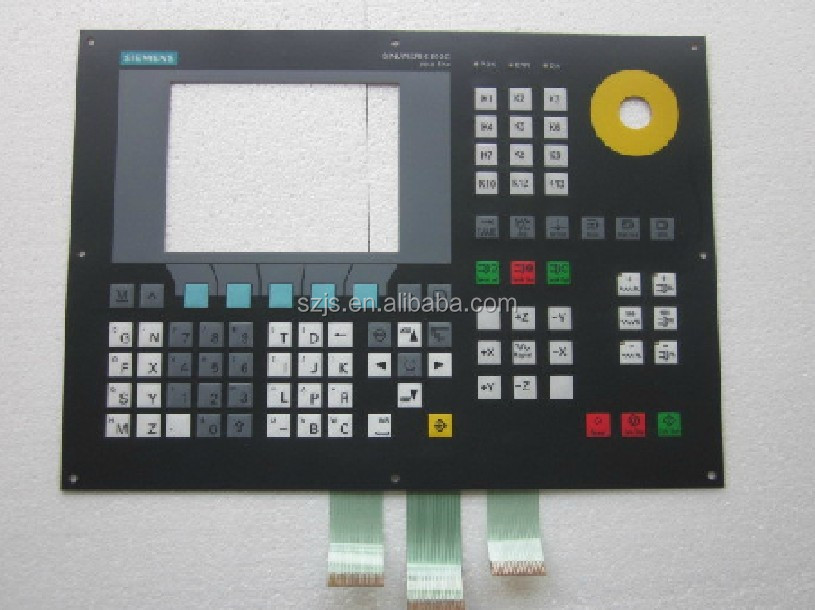 new 802S 6FC5500-0AA11-1AA0 Membrane Keypad 90 days warranty
