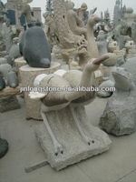 granite carved animal stone