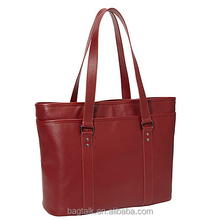 LT1176 Customized Fancy PU Business Shoulder Women Leather Laptop Bag