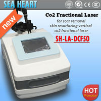 New fractional co2 laser with USA Coherent RF