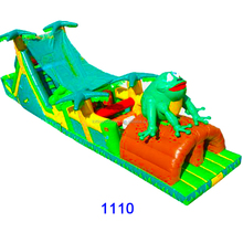 inflatable water obstacle course, inflatable obstacle course, inflatable floating obstacle