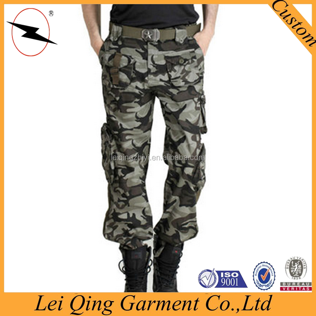 2015 new outdoor camouflage hunting trousers