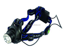 Hot sell Outdoor 10W CREE T6 hight power aluminum led head lamp