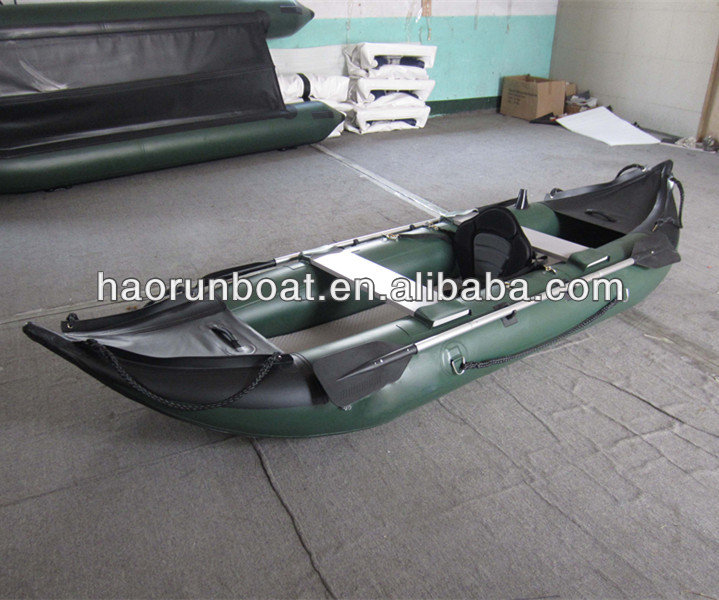 inflatable rubber kayak