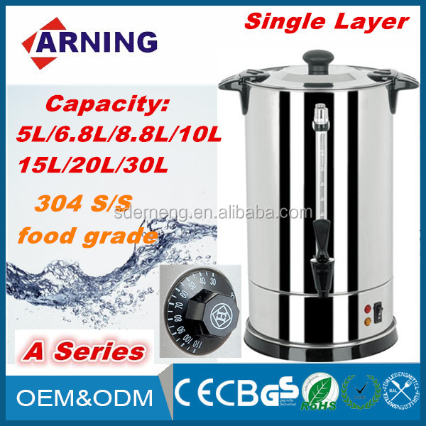Electric Home Appliances Double Stainless Steel Layers Electric Water Boiler / Electric Kettle